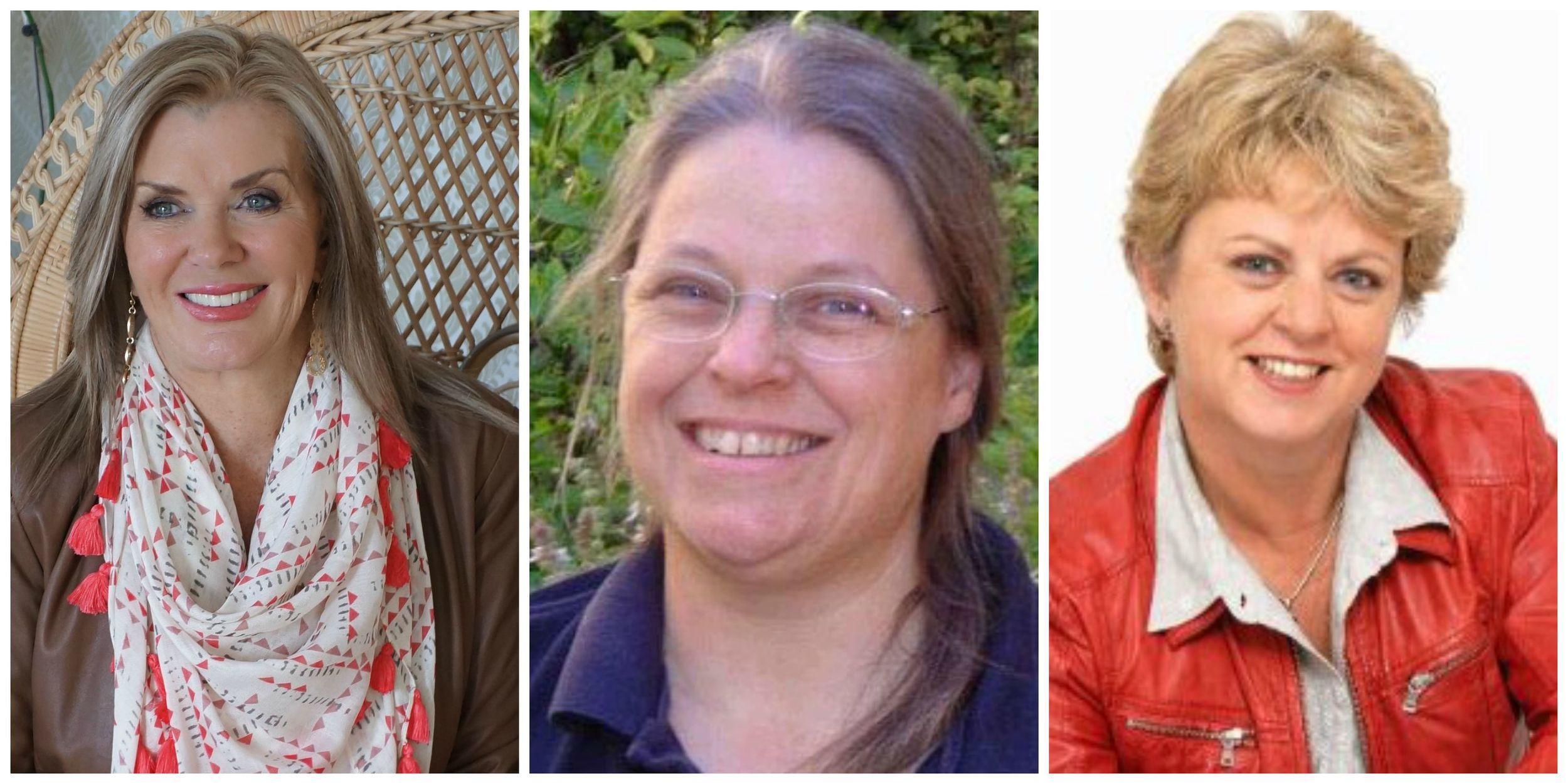 L-R:Margaret Hirsch,Shona McDonald and Wendy Kemp