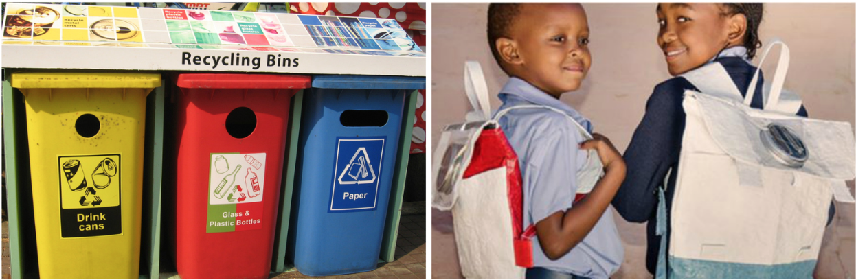 Thato Kgatlhanye's social enterprise produces up-cyled school bags with an integrated solar light that is changing the lives of school kids in South Africa