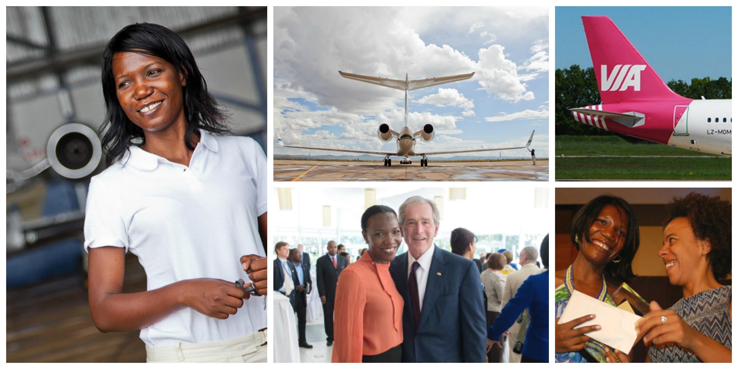Susan Mashibe, founder of VIA Aviation