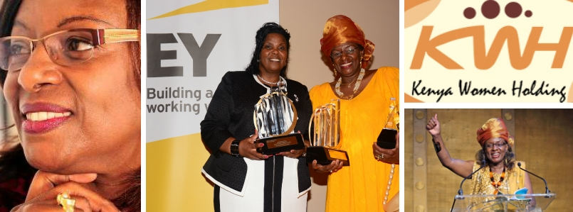 Dr. Jennifer Riria, CEO of Kenya Women Holding