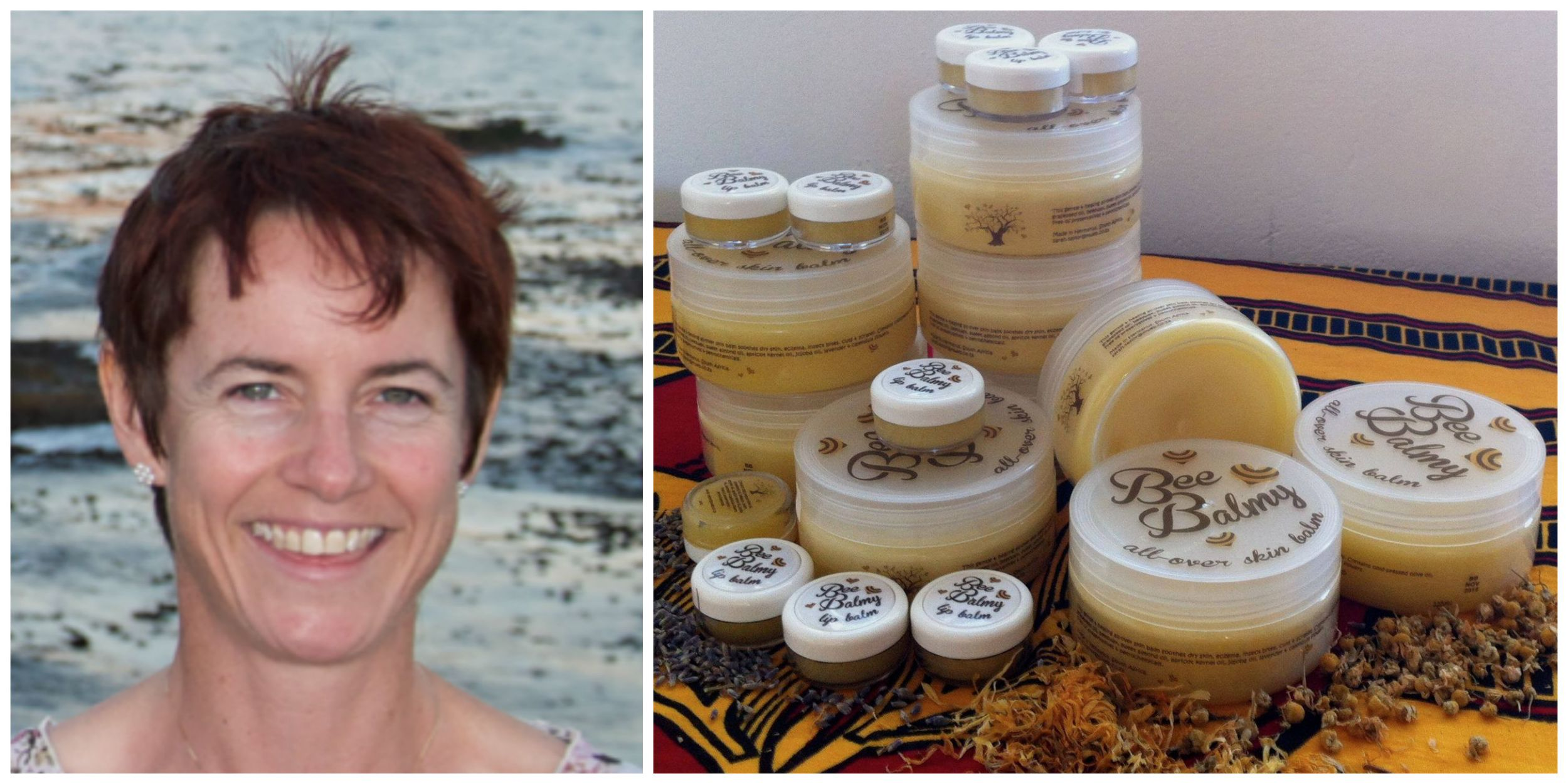 Sarah Taylor, founder of Bee Balmy