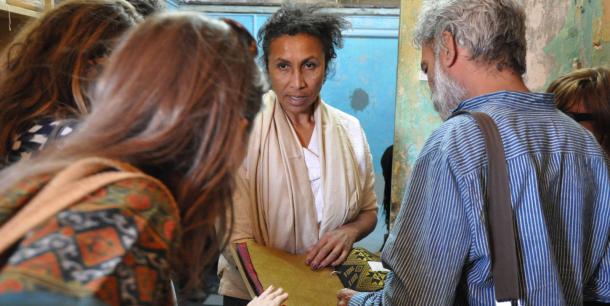 Aissa Dione, founder of Aissa Dione Textiles