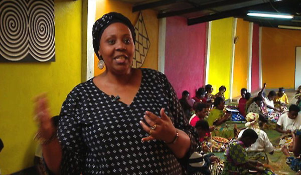 Janet Nkubana , co-founder of Gahaya Links (Rwanda)