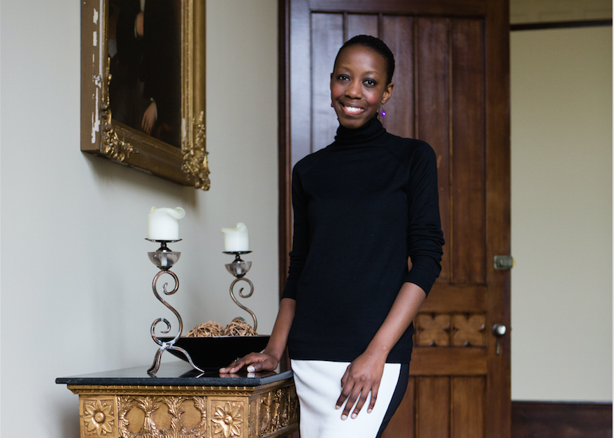 Clare Kagimu , founder and CEO of Phoenix Design