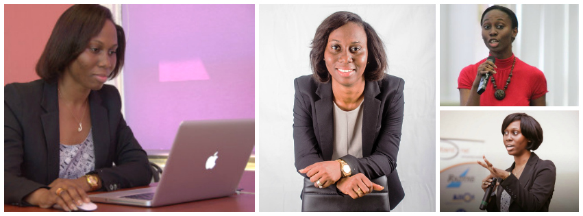 Ethel Cofie , founder of  Edel Technology Consulting (Ghana)