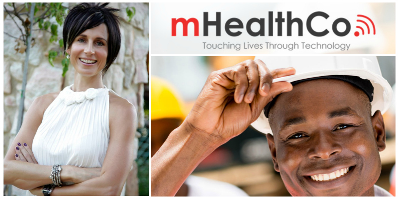 Chantal Du Chenne , founder of  mHealthCo , South Africa