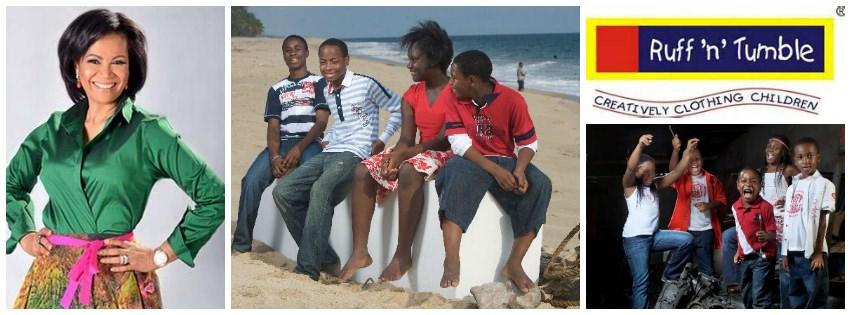 Adenike 'Nike' Ogunlesi ,founder of  Ruff 'n' Tumble (Nigeria)