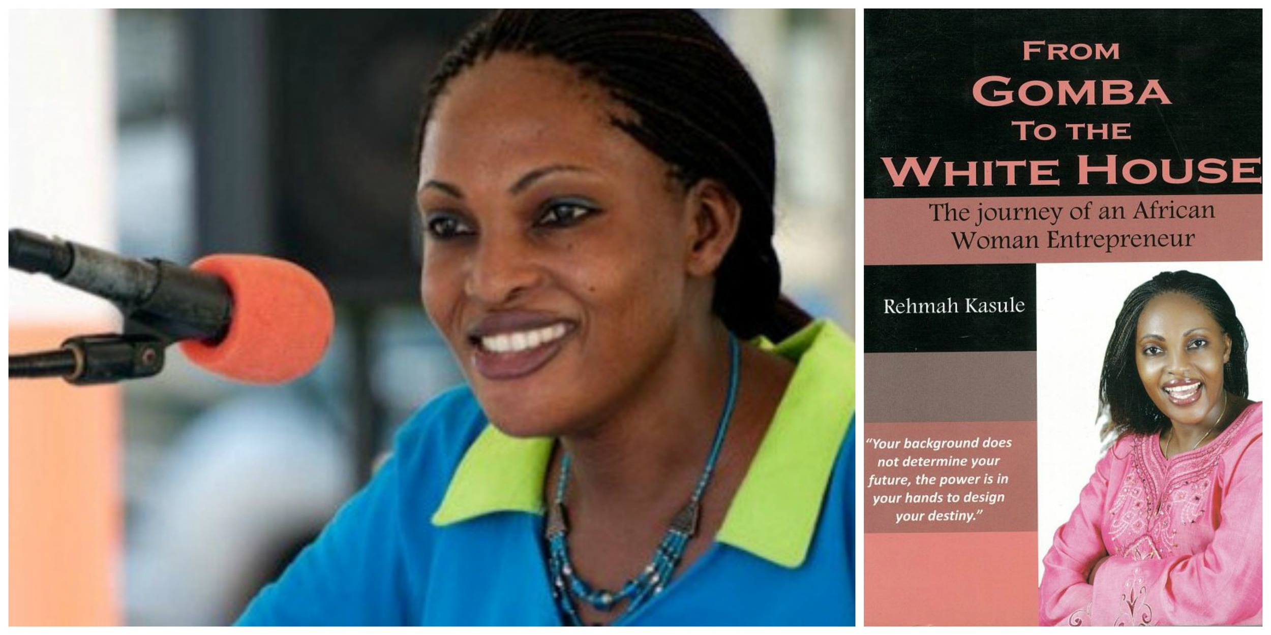 Rehmah Kasule , author and entrepreneur