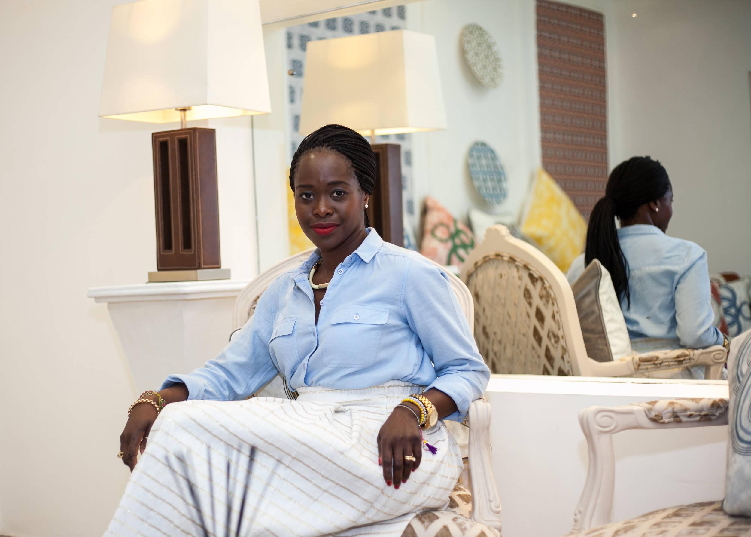 Eva Sonaike , founder of  Eva Sonaike