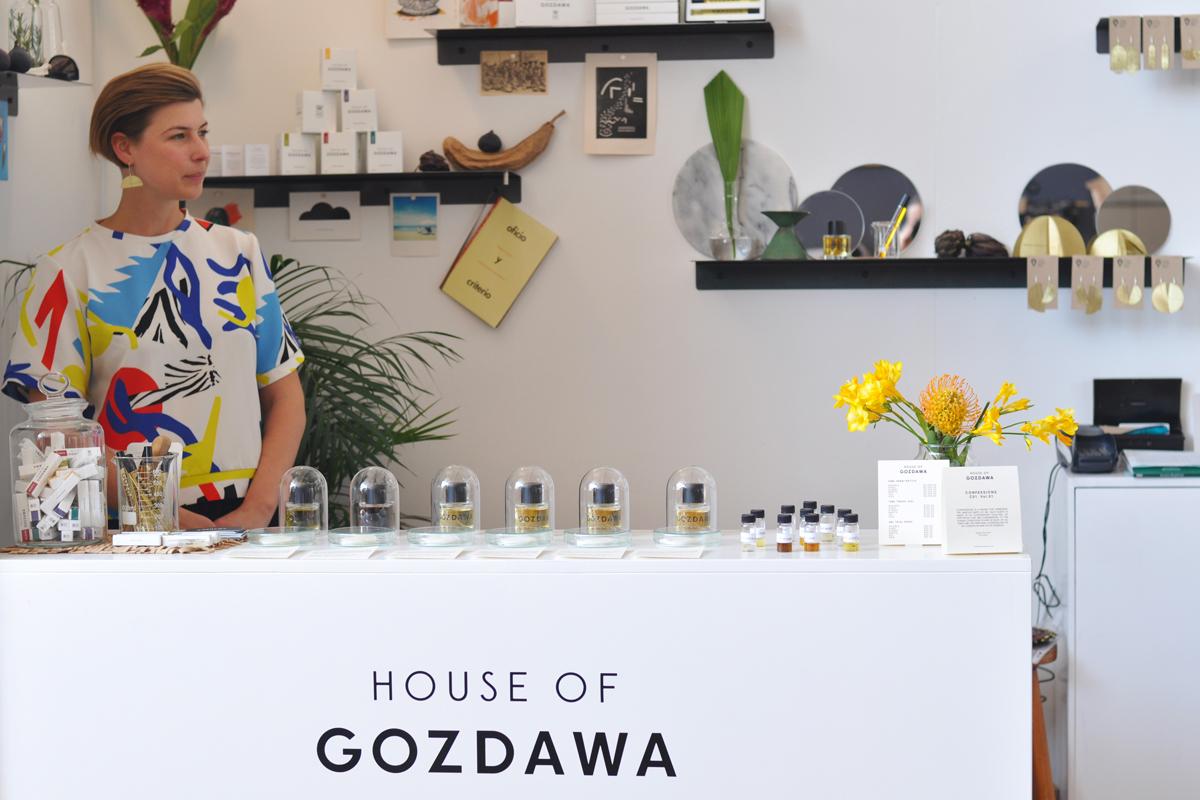 Agata Karolina , founder of  House of Gozdawa (South Africa)