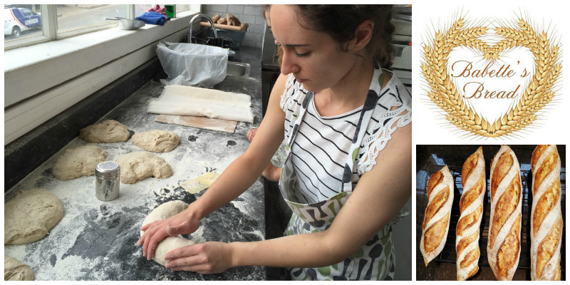 Babette Van der Walt, founder of  Babette's Bread  (South Africa)