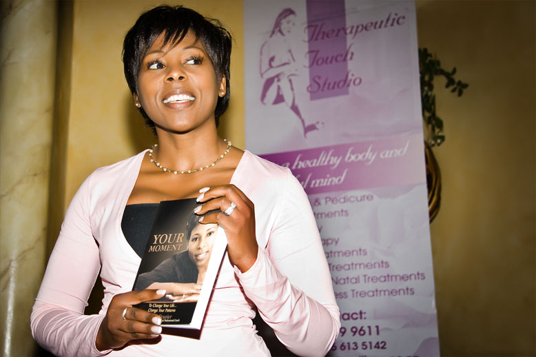 Tumi Frazier , founder of  Tumi Frazier International , South Africa