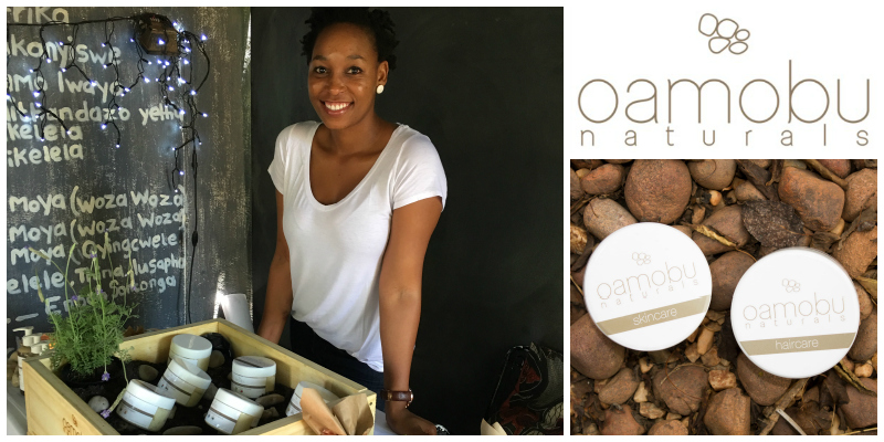 Getty Choenyana , founder of  Oamobu Naturals  (South Africa)