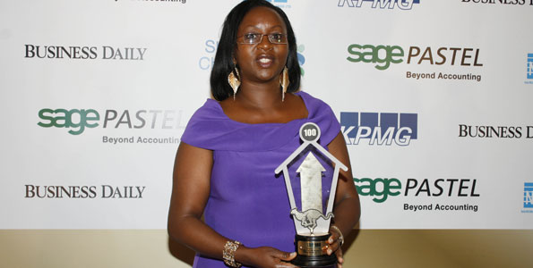 Joanne Mwangi ,founder and CEO,  PMS Group