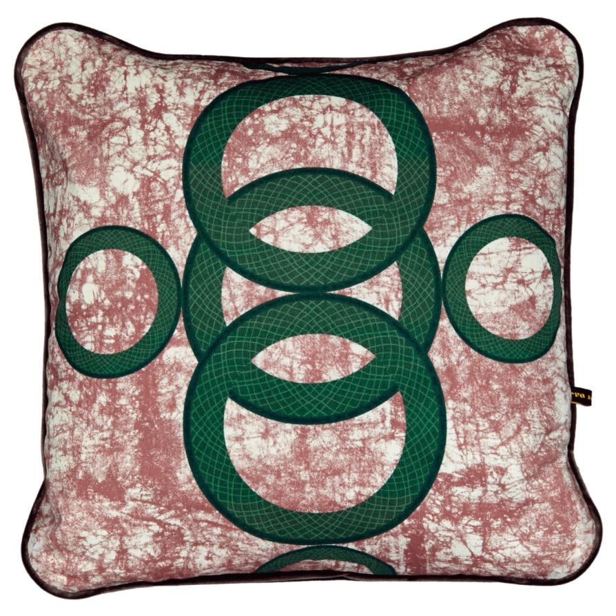Ara II Cushion 50x50cm | by Eva Sonaike | founder, Eva Sonaike (UK)