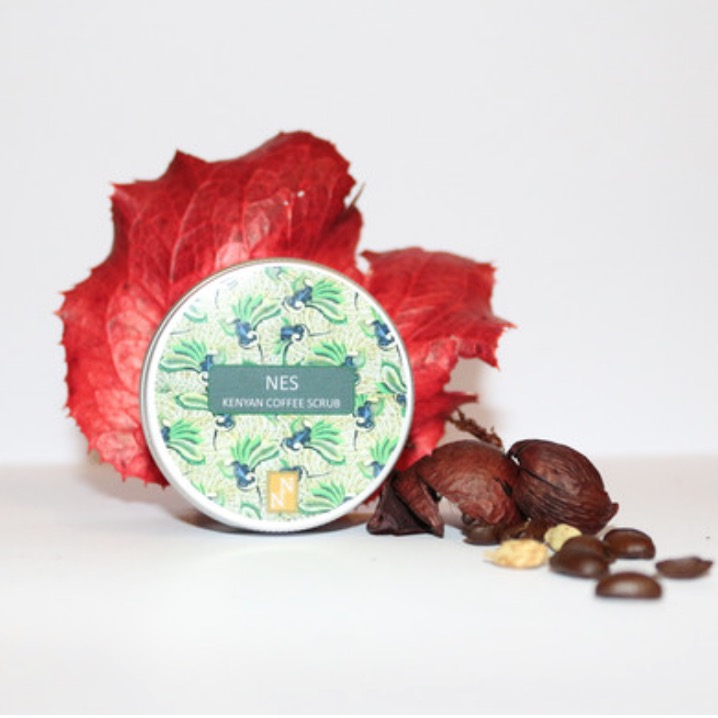 Kenyan Coffee Scrub | by Nyla Naturals | founder, Thokozile Mangwiro (South Africa)
