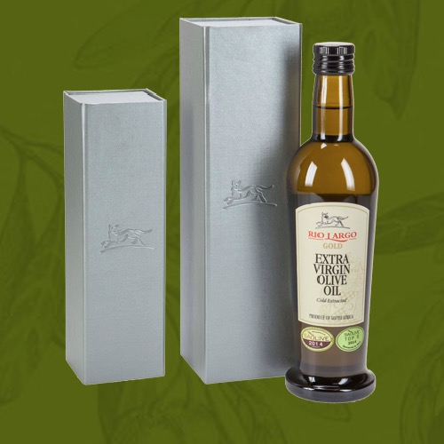 Cold Extracted, Extra Virgin Olive Oil | by Rio Largo | co-founder, Brenda Wilkinson (South Africa)