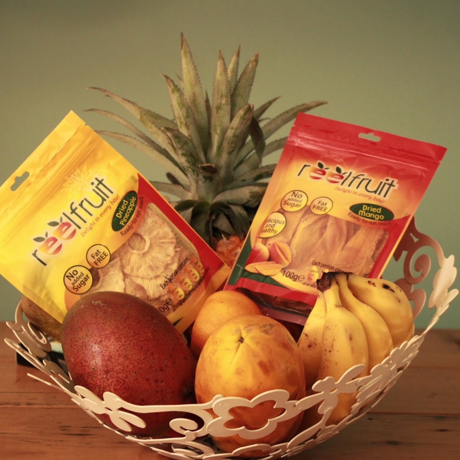 ReelFruit in Pineapple and Mango Flavours | by ReelFruit | founder, Affiong Williams (Nigeria)