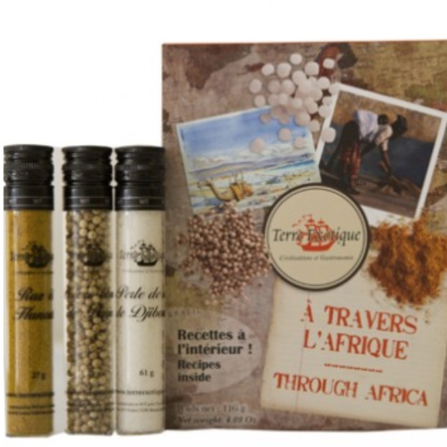 Through Africa Gift Pack | by The Really Interesting Food Company | founder, Anthea Rutherford (South Africa)