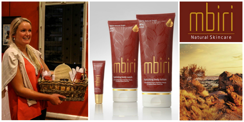 Tammy Nott , founder of  Mbiri Natural Skincare  (Namibia)