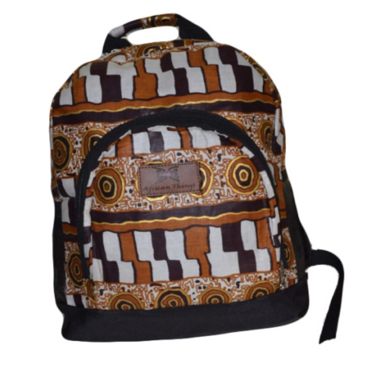 Backpack | by African Things | founder, Oluwatosin Lawson (Nigeria)