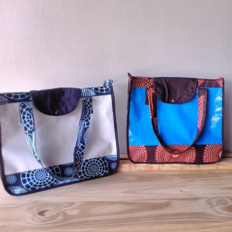 Duhahe Tote | by Angaza | founders, Monica Umwari and Maria Mayanja (Rwanda)