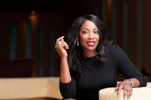 Mo Abudu ,founder and Chief Executive Officer of  EbonyLife TV