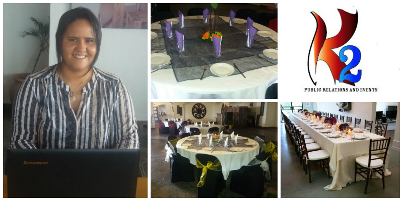 Kynaro Kinnear , founder of  K2 PR and Events (South Africa)