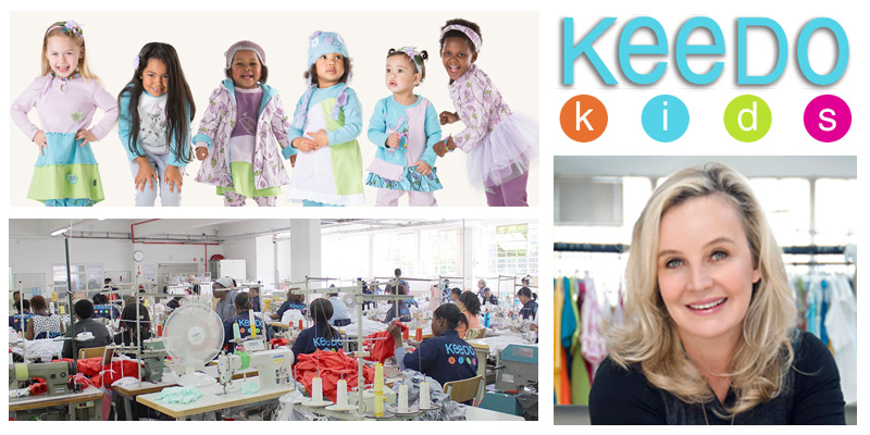 Nelia Annandale , founder of  Keedo Kids  (South Africa)