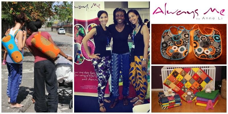 Nkemdilim Begho, Ashim Egunjobi & Ijeome Nwoke , founders of  'Always Me by Anne Li' , Nigeria