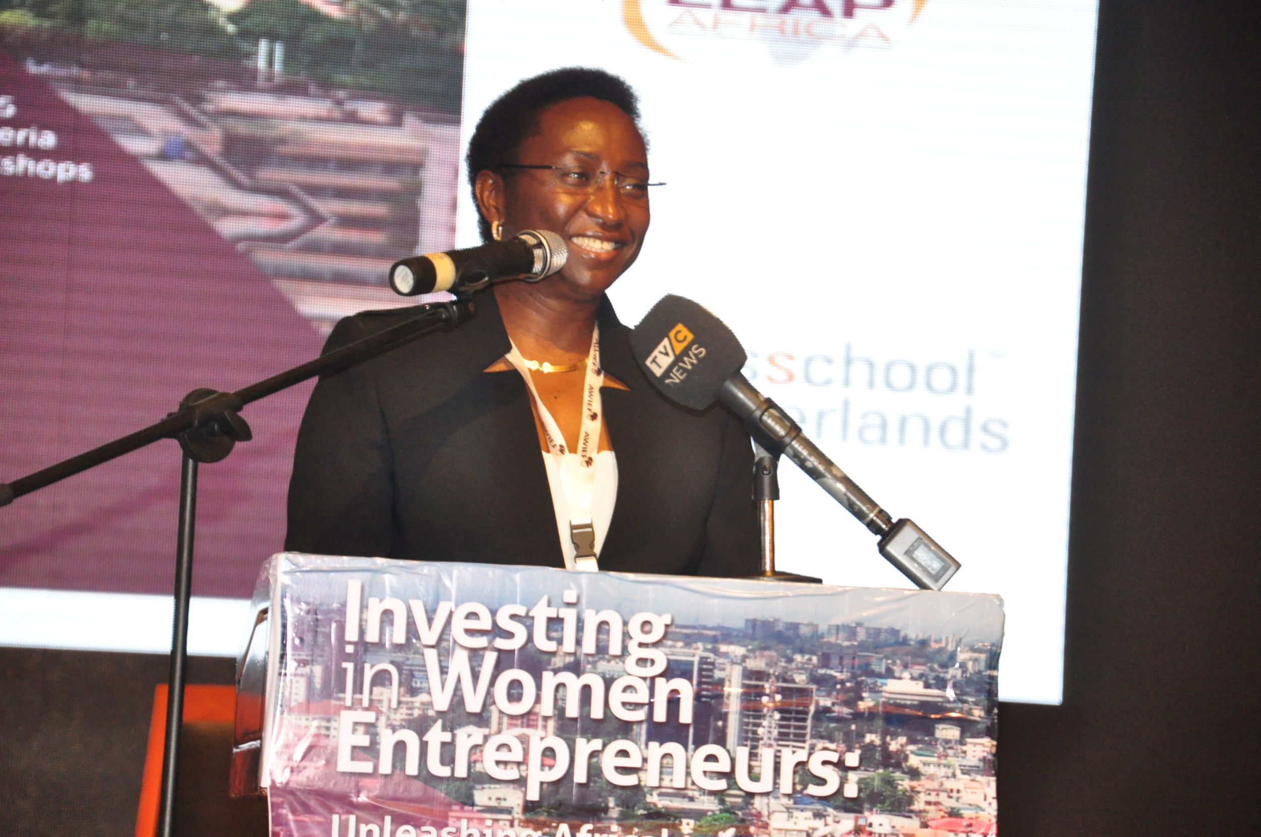 Irene Ochem , founder of  ICO Conferences & Events Limited