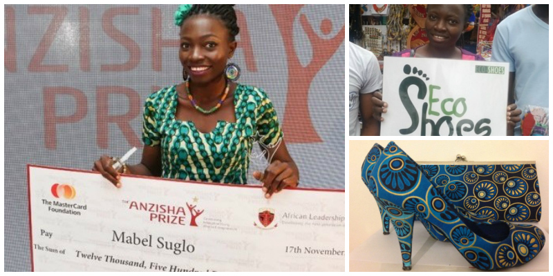 Mabel Suglo , founder of  Eco Shoes