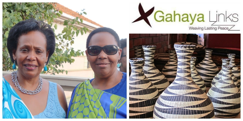 Joy Ndungutse and Janet Nkubana , co-founders of  Gahaya Links Cooperatives  (Rwanda)