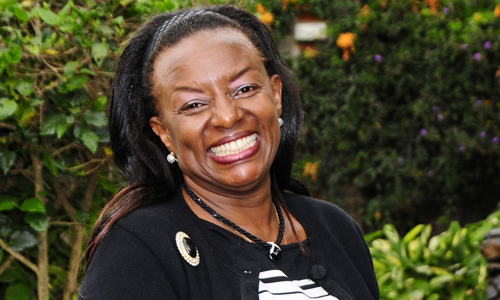 Dr Jennifer Riria , Group CEO of  Kenya Women Holding  (KWH)