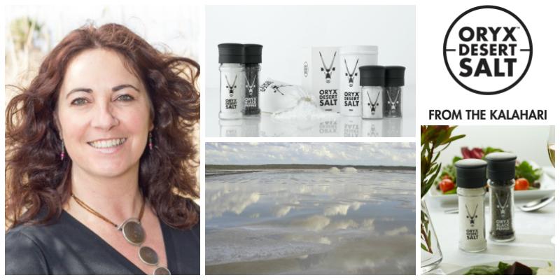 Samantha Skyring , founder of   Oryx Desert Salt  (South Africa)