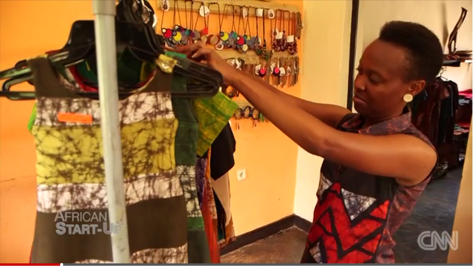 Click to watch Gloria featured on CNN African Startup