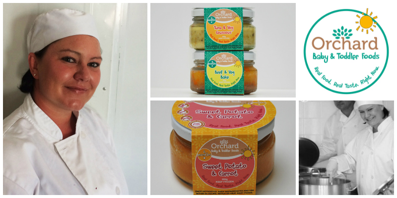 Nikki Davies , co-founder of  Orchard Baby and Toddler Foods  (South Africa)