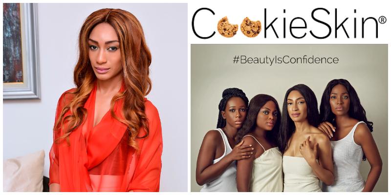 Leslie Okoye , founder of L'Okoye Cosmetics Inc.