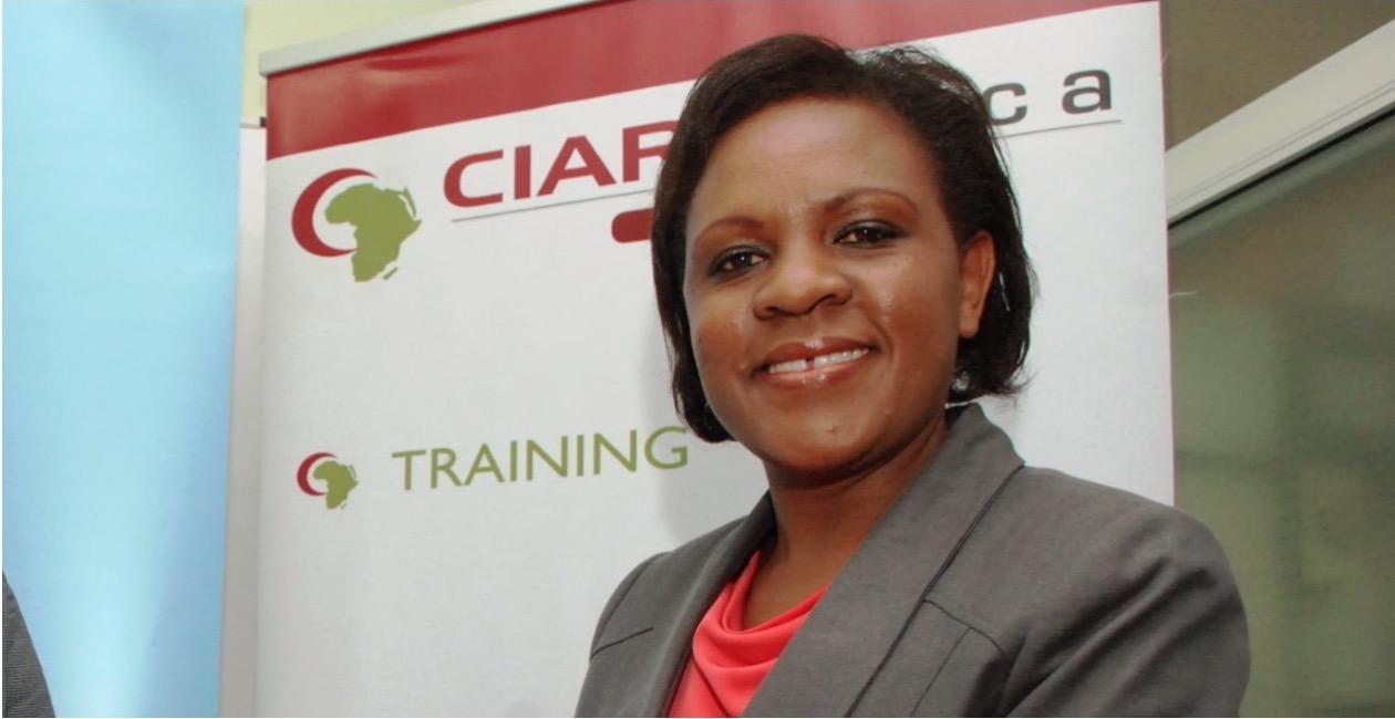 Ruth Kwalanda , founder of  CIAR Management Institute (Kenya)
