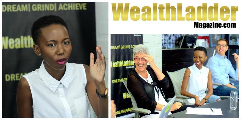 Beth Malatji , founder of  Wealth Ladder Magazine  (South Africa)