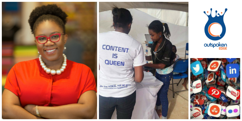 Emma Tandoh , founder of  Outspoken Edge  (Ghana)
