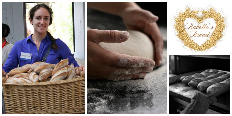 Babette van der Walt , founder of  Babette's Bread  (South Africa)