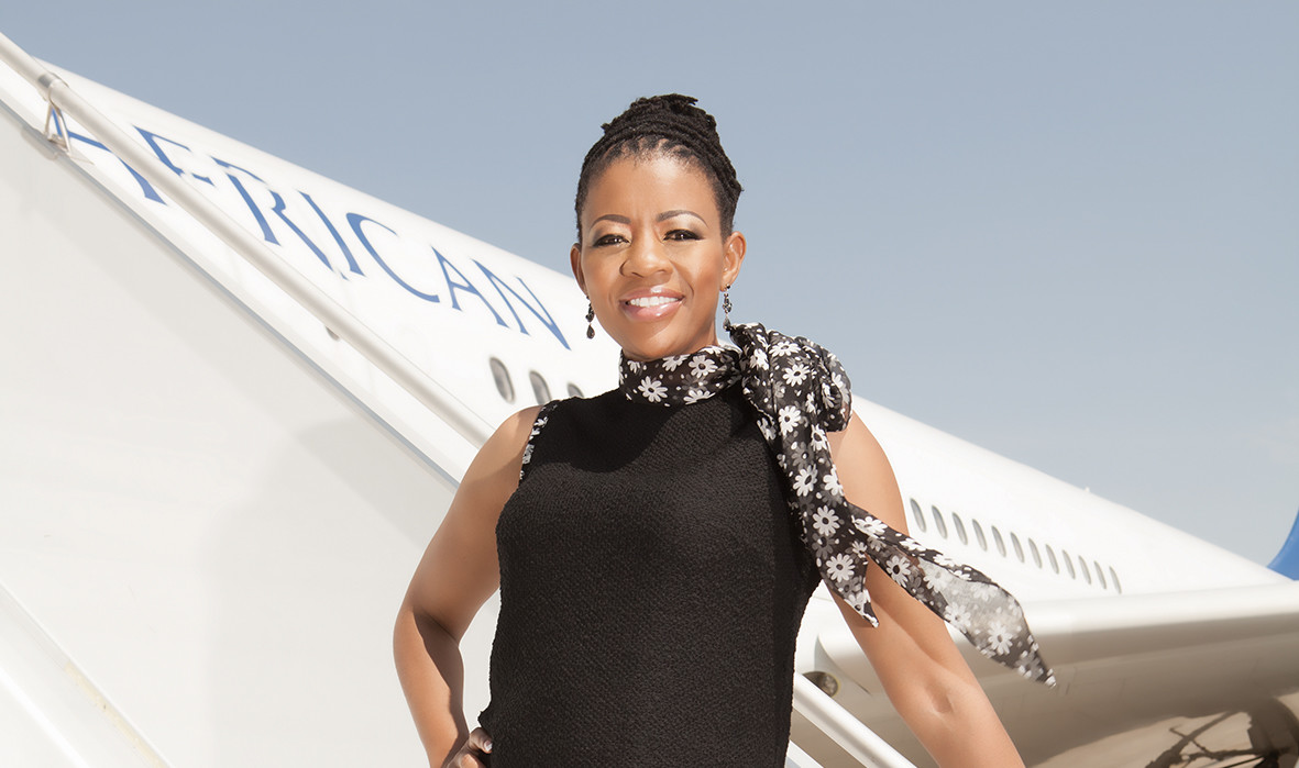 Johanna Mukoki , co-founder of  Travel with Flair  (South Africa)