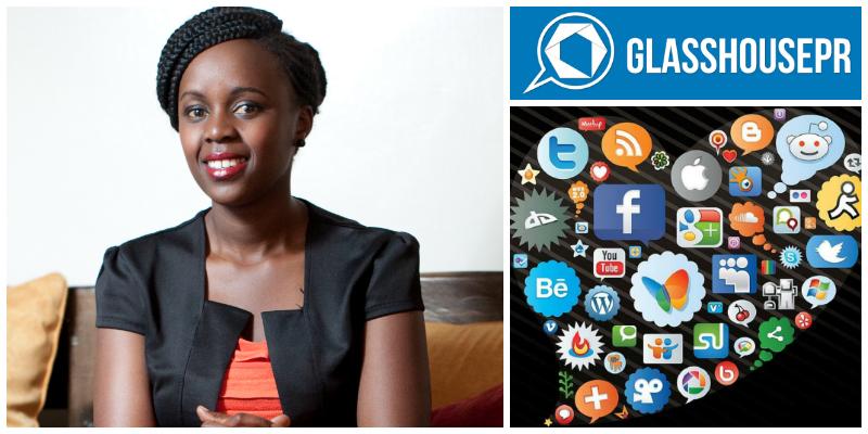 Mary Njoki , founder of  Glass House PR (Kenya)