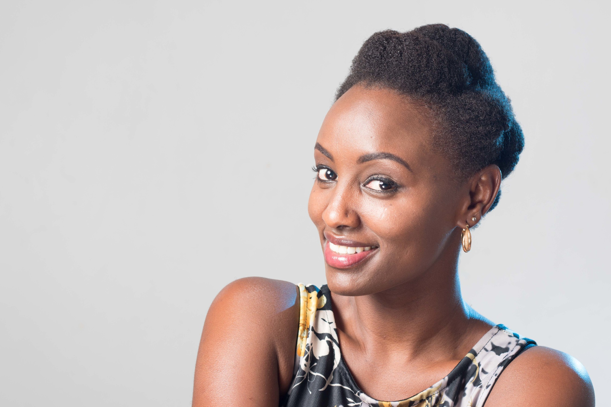 Michelle Ntalami, founder of  Marini Naturals  (Kenya)