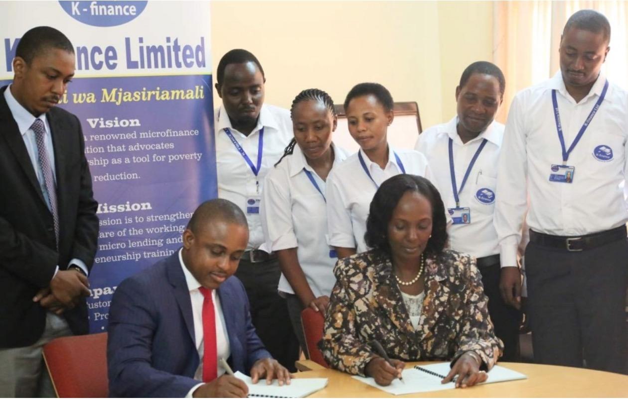 Devotha Ntuke Minzi, founder of  K-finance Limited  (Tanzania)
