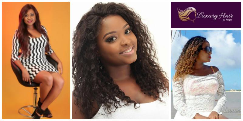 Angela Livu, founder of  Luxury Hair (Kenya)