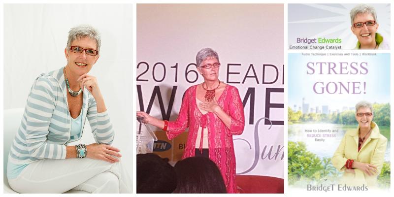 Bridget Edwards  , author and emotional change catalyst
