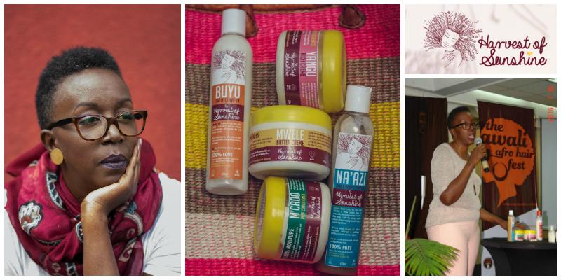 Mumbi Muturi-Muli , founder of  Harvest of Sunshine (Kenya)