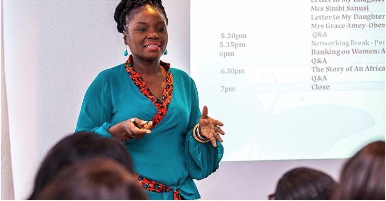 Ruka Sanusi ,founder and CEO of  Alldens Lane  (Ghana)